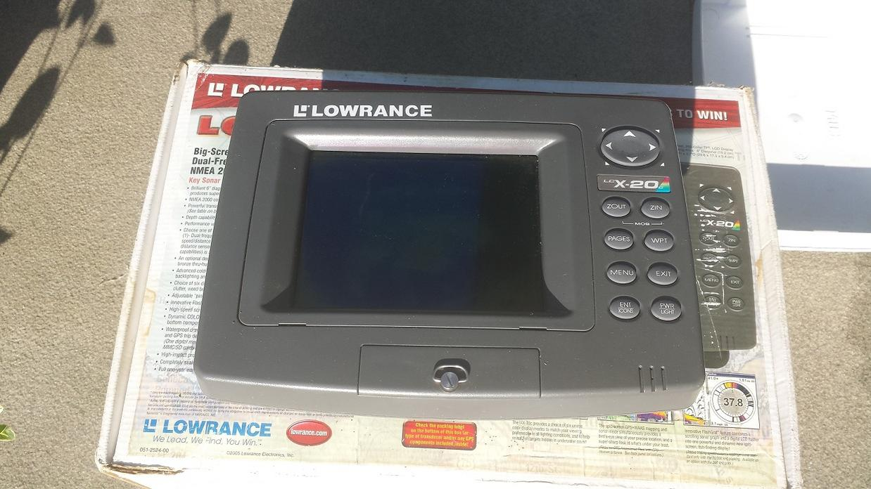 lowrance fishfinder/gps combo and eagle magna 3 for sale | ohio, Fish Finder