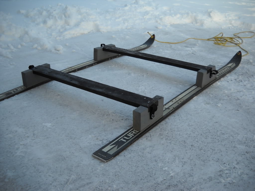 Smitty sled help ohio game fishing your ohio fishing for Ice fishing sleds