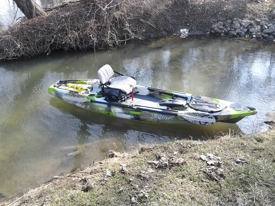 Feelfree lure 11 5 ohio game fishing your ohio fishing for Feelfree lure 11 5 with trolling motor