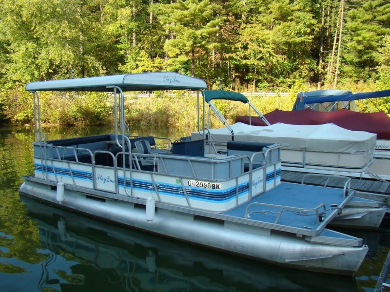 Pontoon boat for sale ohio game fishing your ohio for Fishing boats for sale in ohio