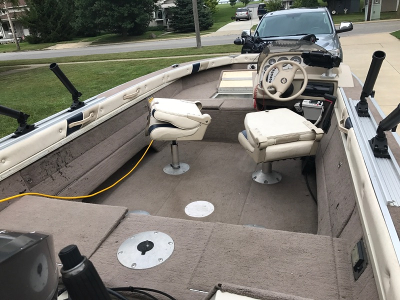 1998 Smoker Craft 170 Phantom Ohio Game Fishing Your