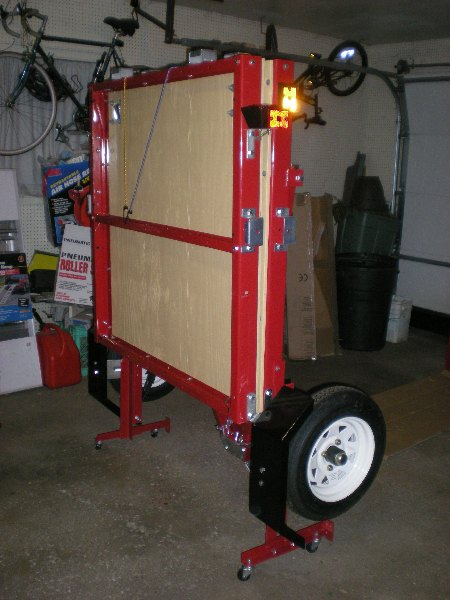 4x8 Utility Trailer Lots Of Upgrades Ready To Hit The