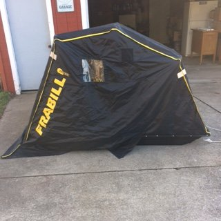For Sale: Frabill recon flip over ice fishing shelter | Ohio Game